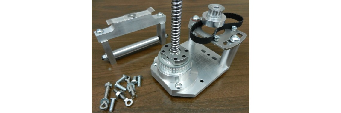 Sieg X2 mini mill Z axis stepper motor mounting kit